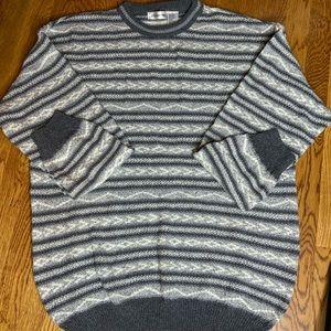 Claiborne Men's Sweater Vintage Knit Size L #L1